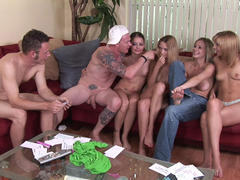 amateur in group sex on party