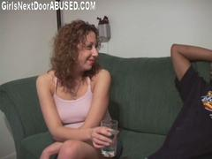 Private interracial sex party