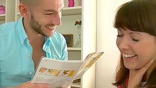 Pretty teen ass fucked