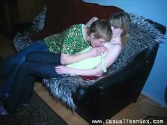 brunette teen getting penetrated