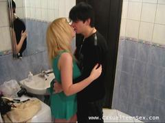 sexy blonde teen penetrated