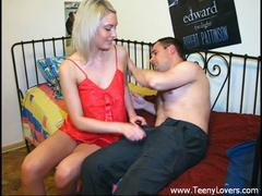 Horny teen on a rebound